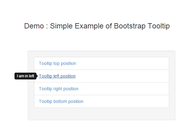 How to use Bootstrap tooltip - Phpflow.com