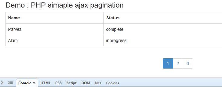 Simple Ajax Pagination with PHP - Phpflow com