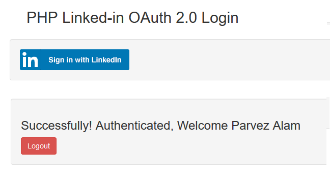 LinkedIn OAuth2 0 Authentication Using Rest API and PHP – Javascript