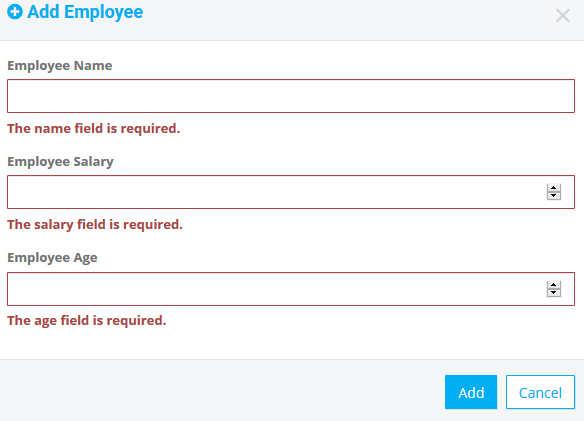 Laravel 5 6 Form Validation Client-Side Using jQuery